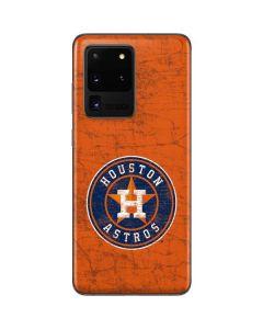 Houston Astros Distressed Galaxy S20 Ultra 5G Skin