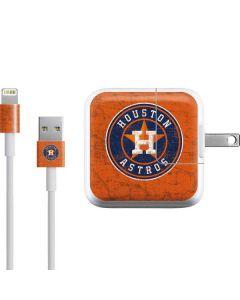 Houston Astros Distressed iPad Charger (10W USB) Skin