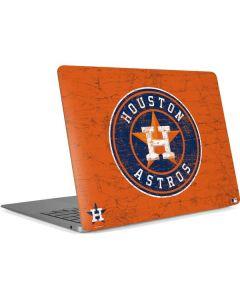 Houston Astros Distressed Apple MacBook Air Skin