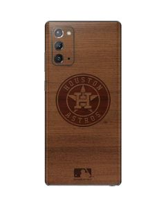 Houston Astros Engraved Galaxy Note20 5G Skin