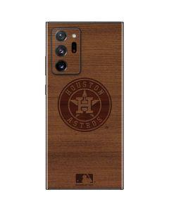 Houston Astros Engraved Galaxy Note20 Ultra 5G Skin