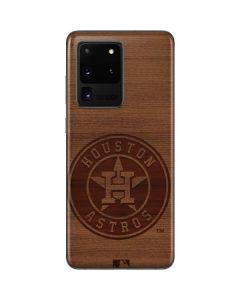 Houston Astros Engraved Galaxy S20 Ultra 5G Skin