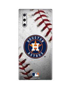 Houston Astros Game Ball Galaxy Note 10 Skin