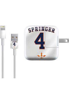 Houston Astros George Springer #4 iPad Charger (10W USB) Skin