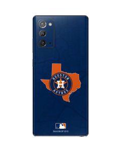 Houston Astros Home Turf Galaxy Note20 5G Skin