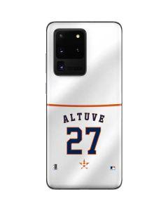 Houston Astros Jose Altuve #27 Galaxy S20 Ultra 5G Skin
