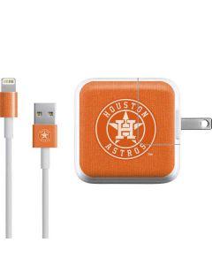 Houston Astros Monotone iPad Charger (10W USB) Skin