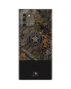 Houston Astros Realtree Xtra Camo Galaxy Note 10 Skin