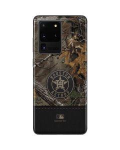 Houston Astros Realtree Xtra Camo Galaxy S20 Ultra 5G Skin