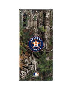 Houston Astros Realtree Xtra Green Camo Galaxy Note 10 Skin