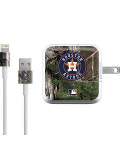 Houston Astros Realtree Xtra Green Camo iPad Charger (10W USB) Skin