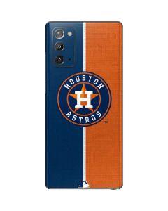 Houston Astros Split Galaxy Note20 5G Skin