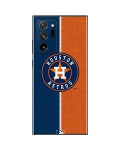 Houston Astros Split Galaxy Note20 Ultra 5G Skin