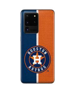 Houston Astros Split Galaxy S20 Ultra 5G Skin