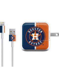 Houston Astros Split iPad Charger (10W USB) Skin