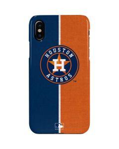 Houston Astros Split iPhone XS Max Lite Case