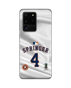 Houston Astros Springer #4 Galaxy S20 Ultra 5G Skin