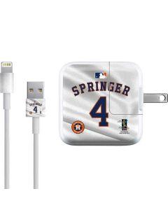 Houston Astros Springer #4 iPad Charger (10W USB) Skin