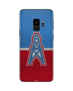 Houston Oilers Vintage Galaxy S9 Skin