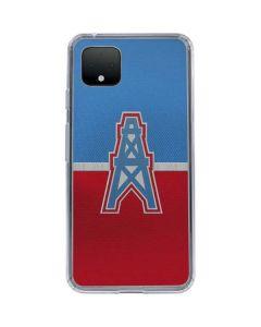 Houston Oilers Vintage Google Pixel 4 Clear Case
