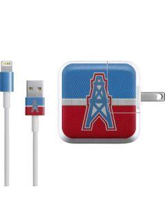 Houston Oilers Vintage iPad Charger (10W USB) Skin