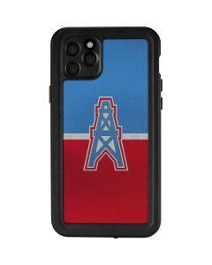 Houston Oilers Vintage iPhone 11 Pro Max Waterproof Case