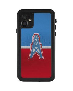 Houston Oilers Vintage iPhone 11 Waterproof Case
