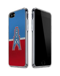 Houston Oilers Vintage iPhone SE Clear Case