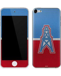 Houston Oilers Vintage Apple iPod Skin