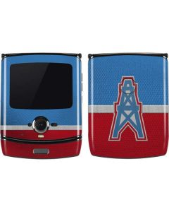 Houston Oilers Vintage Motorola RAZR Skin