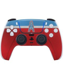 Houston Oilers Vintage PS5 Controller Skin
