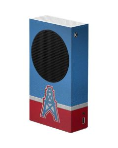Houston Oilers Vintage Xbox Series S Console Skin