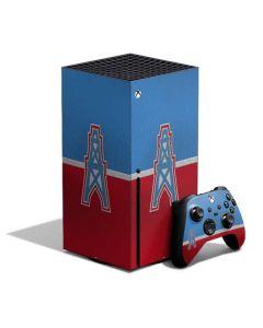Houston Oilers Vintage Xbox Series X Bundle Skin