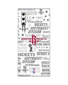 Houston Rockets Historic Blast Galaxy Note 10 Skin