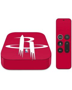 Houston Rockets Large Logo Apple TV Skin