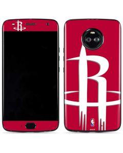 Houston Rockets Large Logo Moto X4 Skin