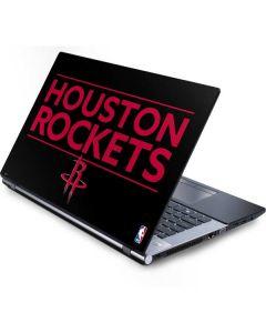 Houston Rockets Standard - Black Generic Laptop Skin