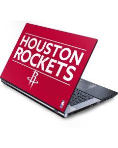 Houston Rockets Standard - Red Generic Laptop Skin