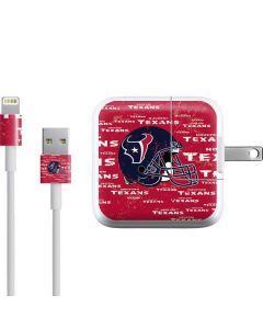 Houston Texans - Blast iPad Charger (10W USB) Skin