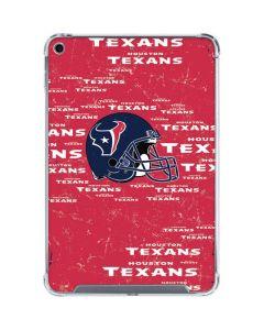 Houston Texans - Blast iPad Mini 5 (2019) Clear Case