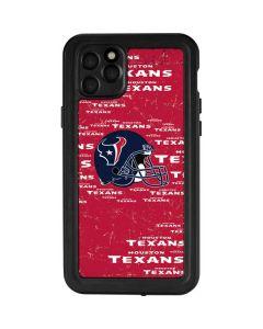 Houston Texans - Blast iPhone 11 Pro Max Waterproof Case