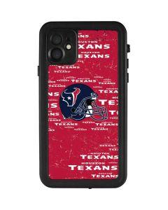 Houston Texans - Blast iPhone 11 Waterproof Case