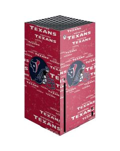 Houston Texans - Blast Xbox Series X Console Skin