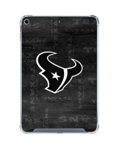 Houston Texans Black & White iPad Mini 5 (2019) Clear Case