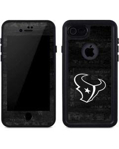 Houston Texans Black & White iPhone SE Waterproof Case