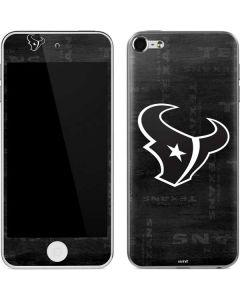 Houston Texans Black & White Apple iPod Skin