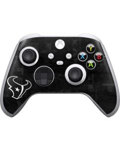 Houston Texans Black & White Xbox Series S Controller Skin