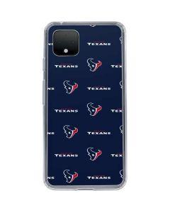 Houston Texans Blitz Series Google Pixel 4 XL Clear Case