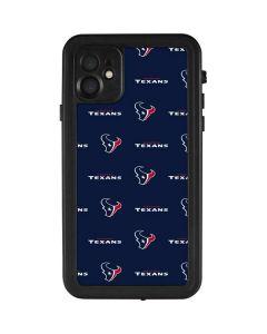 Houston Texans Blitz Series iPhone 11 Waterproof Case