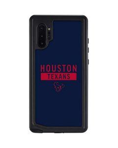 Houston Texans Blue Performance Series Galaxy Note 10 Plus Waterproof Case